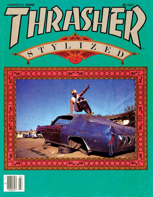 thrasher 1986 magazine covers covers from 1986   Photo: Baboot