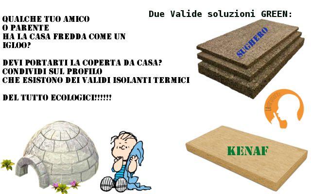 Efficaci per il risparmio energetico ed ecologici. Isolanti termici green su: www.lantirumore.it