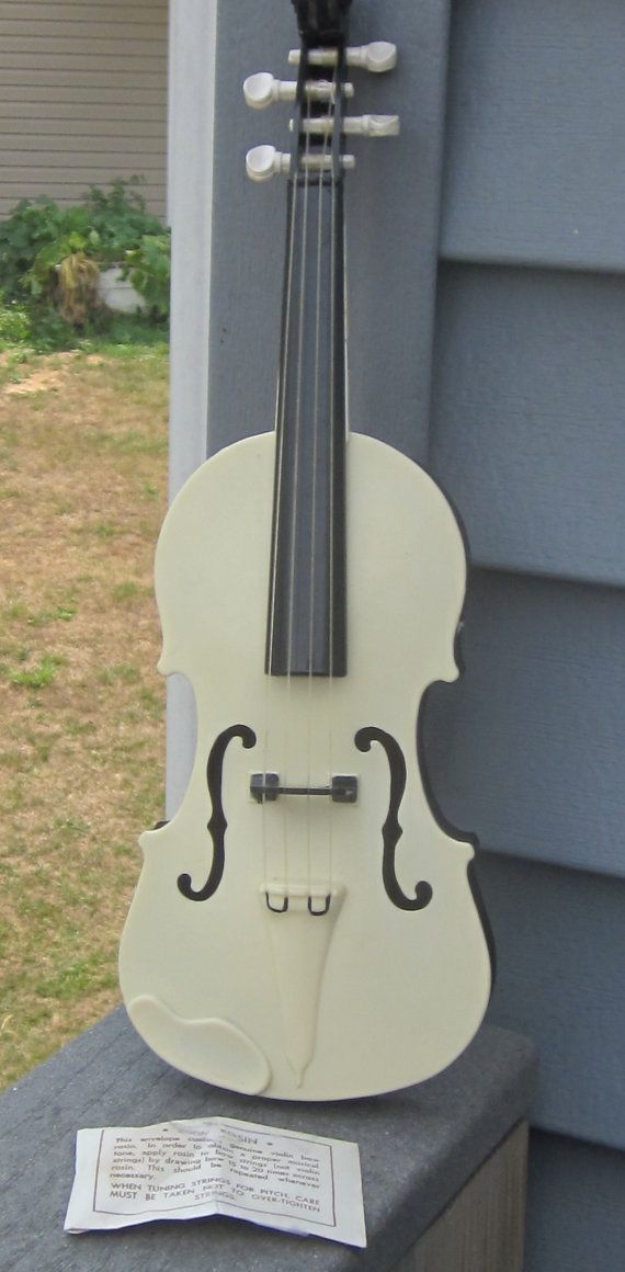 Toy Violin 14 1/2 Long 1950's by LeftoverStuff on Etsy, $20.00