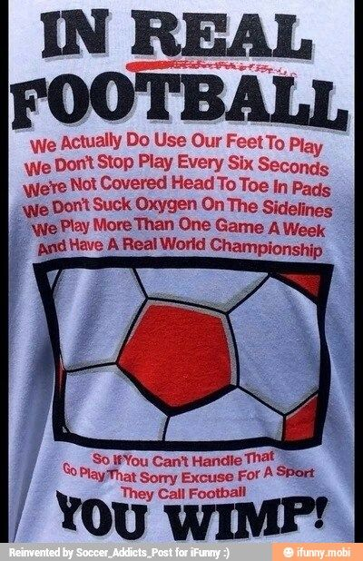 Is it wrong that I want this shirt but don't play Football (soccer)?