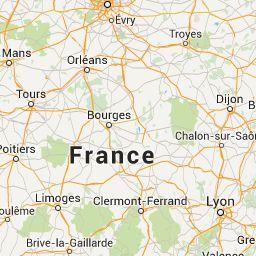 Carte Aires de Services / Aire Service et Stationnement pour camping-car avec photos panoramique 360° en France