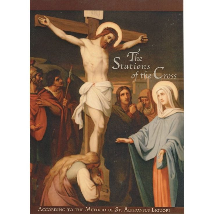 The Stations of the Cross Booklet Catholic prayer book