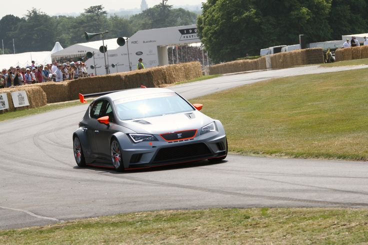 SEAT Leon CupRacer at the Goodwood Festival of Speed