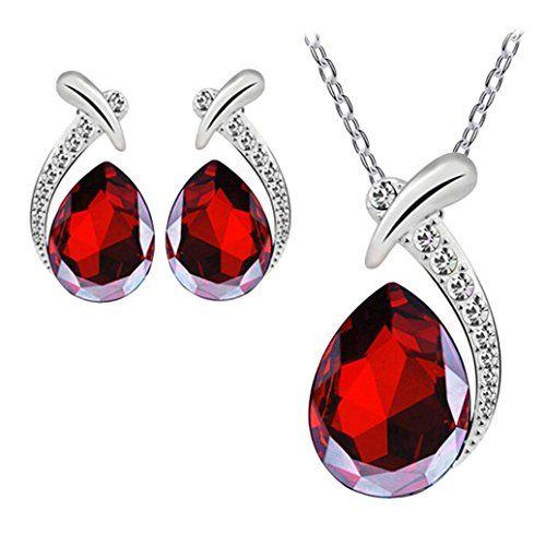 Conjunto de Joyas de Cristal para Mujer, LILICAT® Collar ... https://www.amazon.es/dp/B078NQS5LX/ref=cm_sw_r_pi_dp_U_x_d3VCAb4XQFMY1