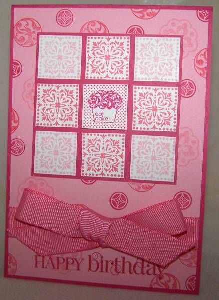 F4A91 Cute by the Inch in Pink by saffivort - Cards and Paper Crafts at Splitcoaststampers