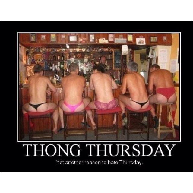 tuesday is foreplay day wednesday is hump day thursday
