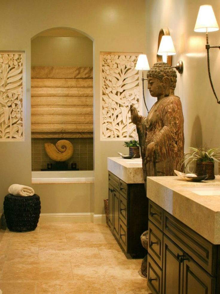 salle de bain avec dco orientale - Salle De Bain Orientale Design