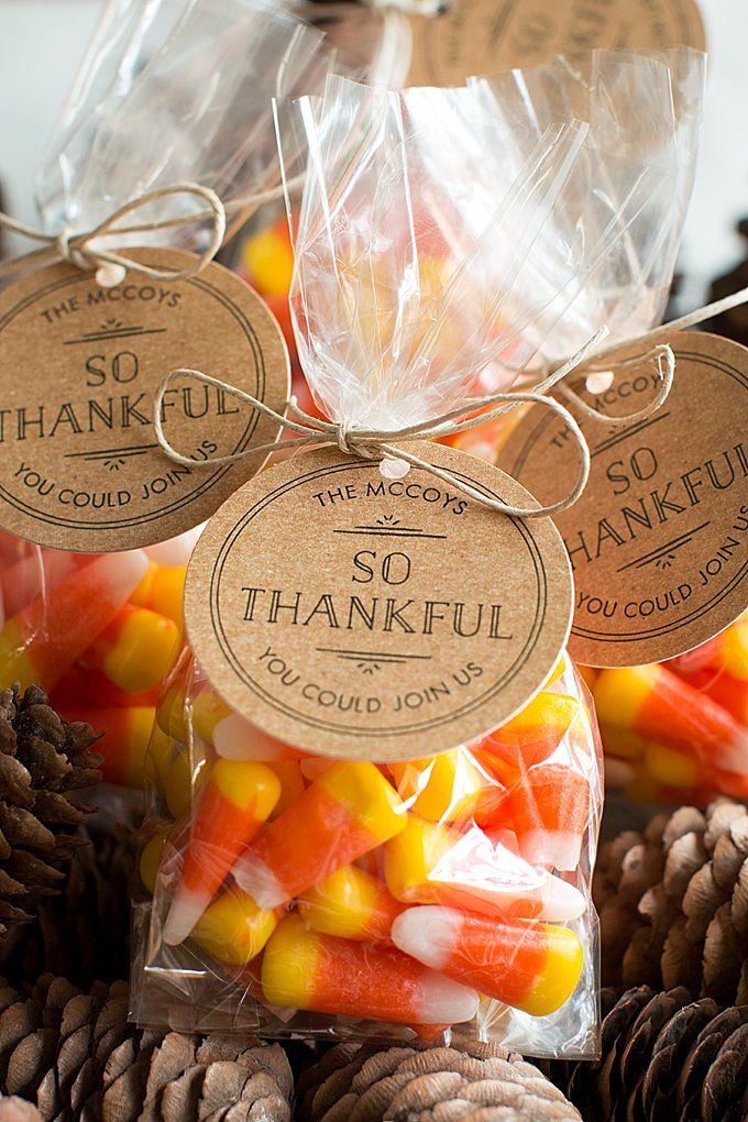 Thanksgiving Favors 3 Party Ideas Perfect Goo Bags For Kids And S