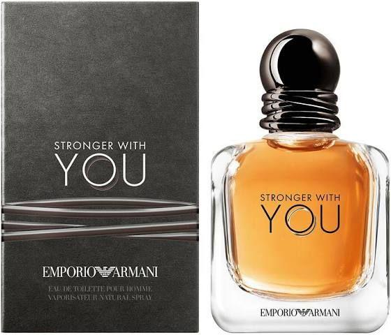 Emporio Armani Stronger With You Men's Cologne - Eau de Toilette, Multicolor, 1.0 Oz