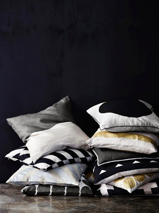 AURA Home Winter 2014 cushions