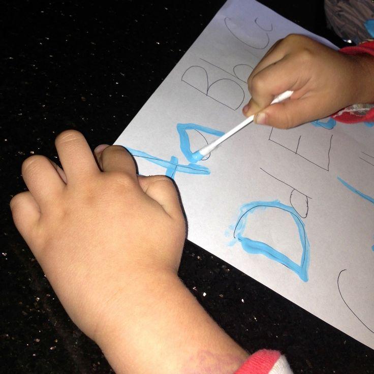 Fun ABC handwriting practice