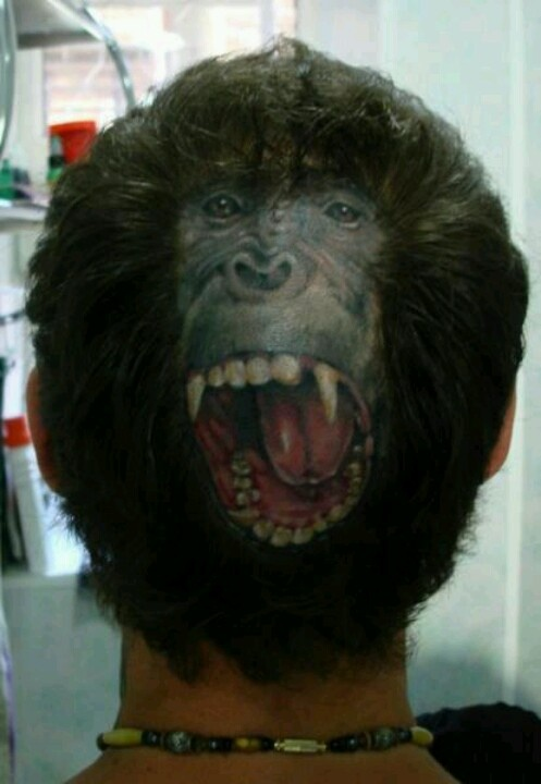 178 best images about crazy hairstyles on pinterest for Tattoo bald spot