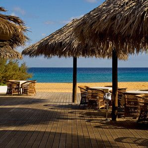 Madeira Islands Travel Guide - by European Best Destinations #Portugal | Photo: Porto Santo beach restaurant