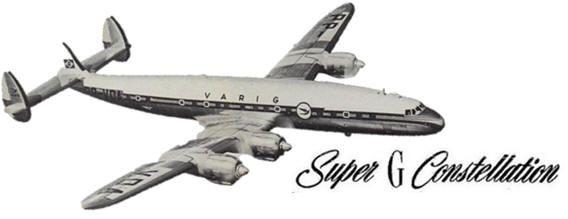 ::: | VARIG | ::: História Em 1953 a VARIG sofreu uma reestruturação completa depois que recebeu autorização do governo para operar voos aos Estados Unidos. Para isso a companhia encomendou aeronaves Convair 240 e os quadrimotores Lockheed Super Constellation.