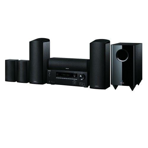 CONJUNTO HOME CINEMA ONKYO HT-S5805. Un modo realmente sensacional de disfrutar del revolucionario sonido Dolby Atmos®. Todo lo que necesita para crear un impresionante sistema de entretenimiento se encuentra en un sencillo pack. #homecinema #Onkyo