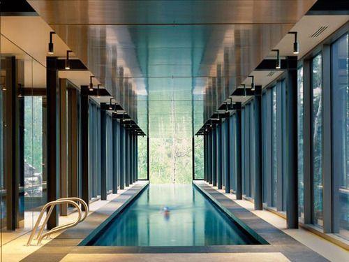 pool: Indoor Pools, Bohlin Cywinski, Parks Cities, Interiors Design, Modern Houses, Architecture, Indoor Swim Pools, Cywinski Jackson, Farrar Resident