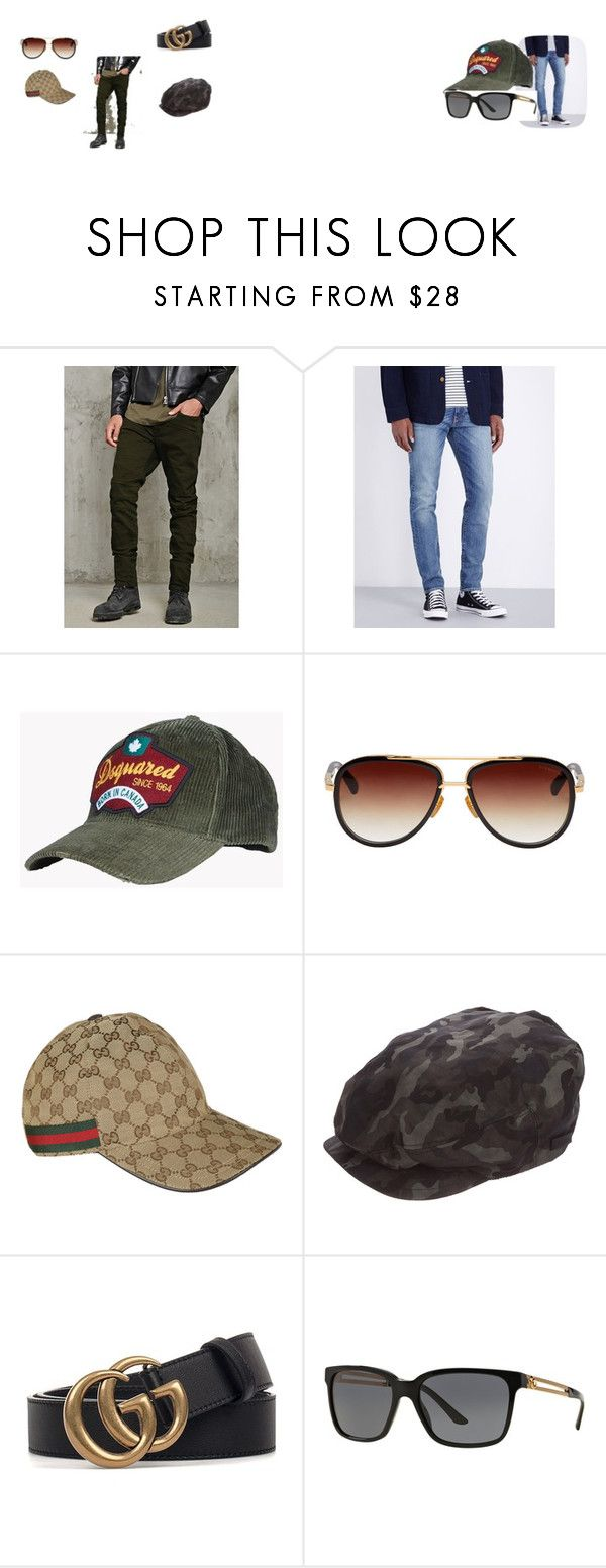 """Men set"" by tada-selo123 ❤ liked on Polyvore featuring 21 Men, Levi's, Dsquared2, Dita, Gucci, Prada, Versace, men's fashion and menswear"