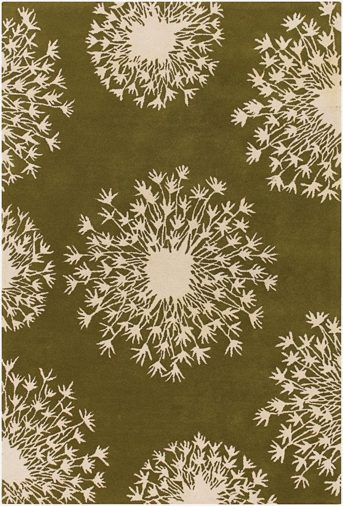 ThomasPaul Alia Rug, Green