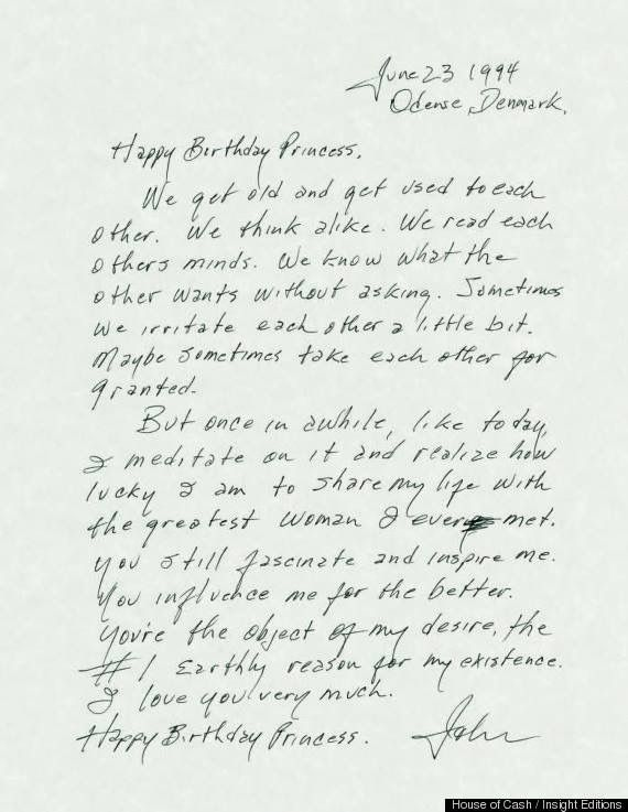 Johnny Cash's love letter to June Carter on her 65th birthday