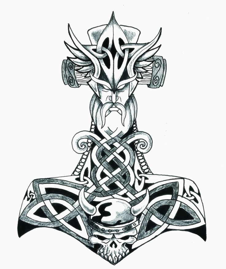 1000 ideen zu thor hammer tattoo auf pinterest geniale tattoos wikinger kunst und wikinger. Black Bedroom Furniture Sets. Home Design Ideas