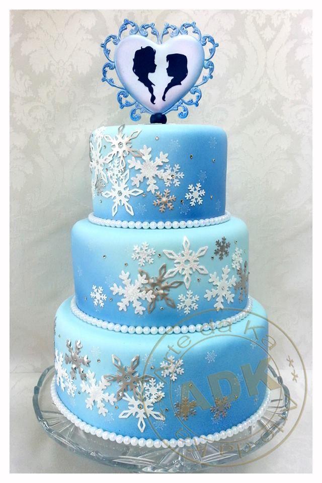 Girl Birthday Cakes Frozen