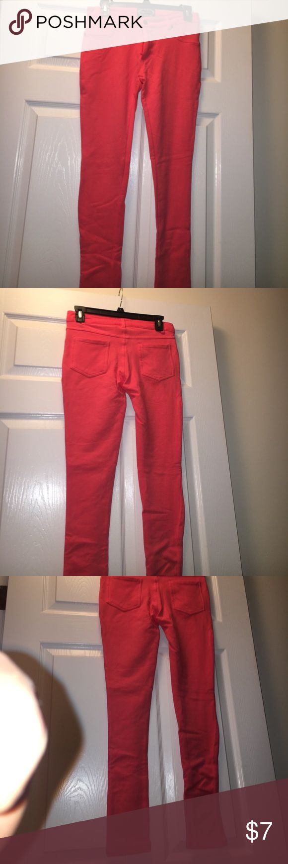 Pink Stretch Jeans Neon jeans, very elastic Ambiance Apparel Pants Skinny