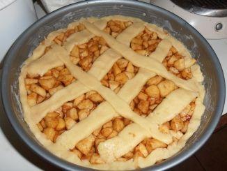 Eenvoudig ouderwetse appeltaart zelf maken