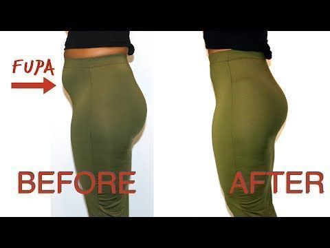 how to hide my fupa  before and afters  youtube