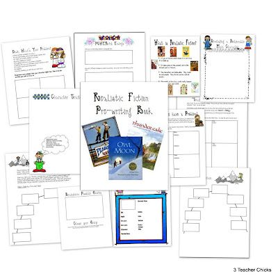 Realistic Fiction Prewriting Pack (Lucy Calkins)