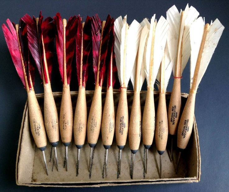 Apex Darts Vintage Wood Steel Tip No. 2 Norristown Turkey