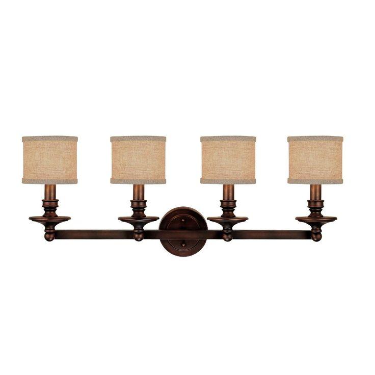 Bathroom Vanity Lights With Fabric Shades 369 best l i g h t i n g images on pinterest | lights, lighting
