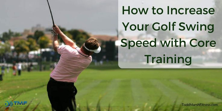 Do you want to hit the golf ball farther? Sure you do! Golf swing speed isn't generated by the core, but it does transfer power. A weak core will produce weak shots.
