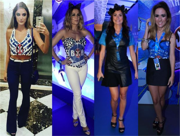 Os looks das famosas no Carnaval [DIA 1] - Fashionismo