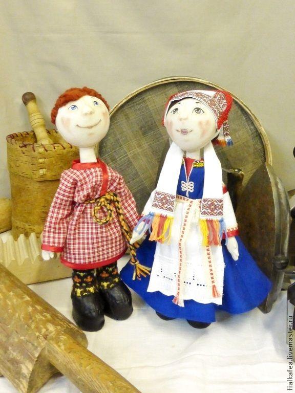 Купить куклы текстильные в народном костюме - кукла в народном костюме, текстильная кукла, текстильная игрушка