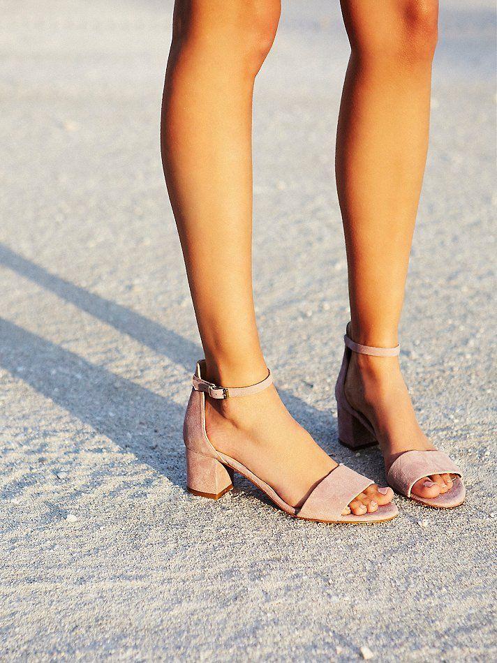 marigold black heel sandal