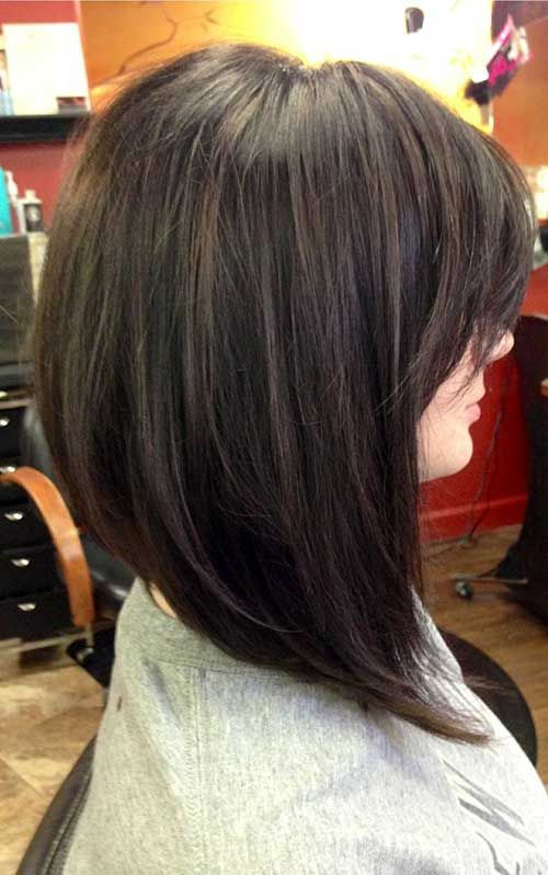 Best Angled Long Bob for Thick Hairstyles