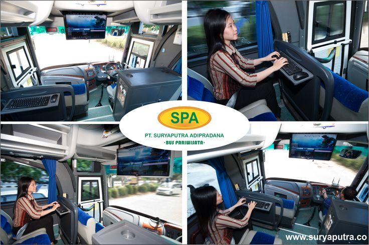 Fasilitas PC Nano Bus Pariwisata Suryaputra