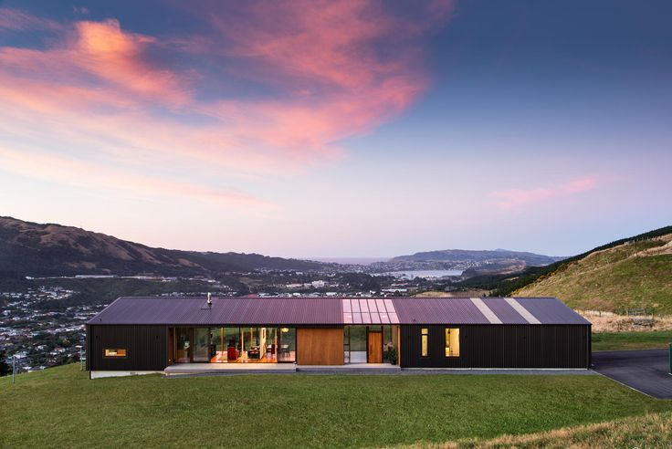 Hau Nui House Tennent Brown Architects Mixed Roof