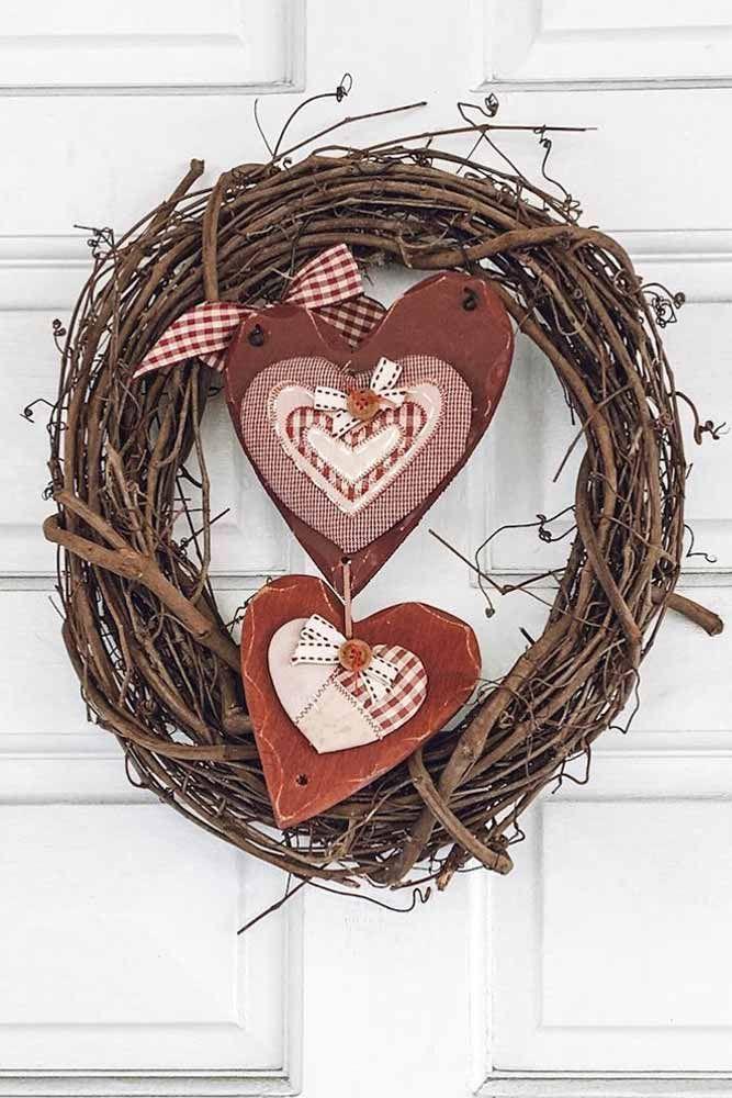 45 Fabulous Decoration Ideas For Valentine S Day Valentine Decorations Valentine Day Wreaths Wreath Decor