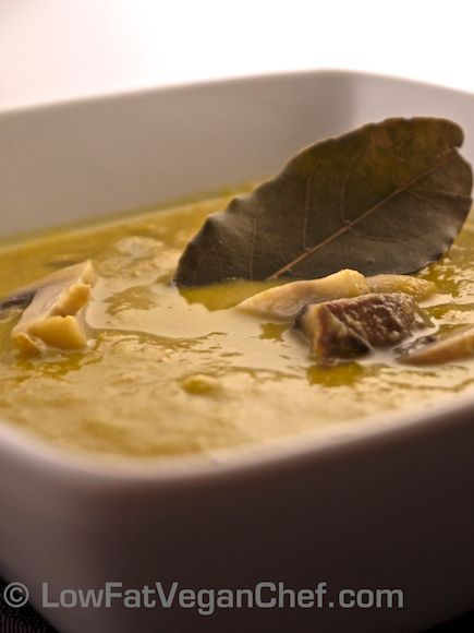 """How To Make Dr. Fuhrman's Eat To Live """"Anti Cancer Soup"""" With Step By Step Photos"""
