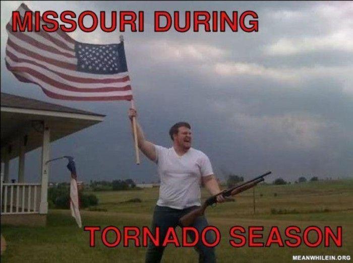 1. Tornado? Where?