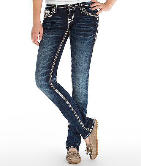 Rock Revival Janelle Straight Stretch Jean