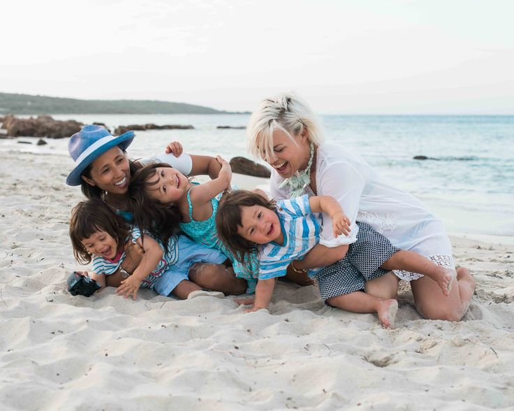 Natural Family Portraits Beach Photography