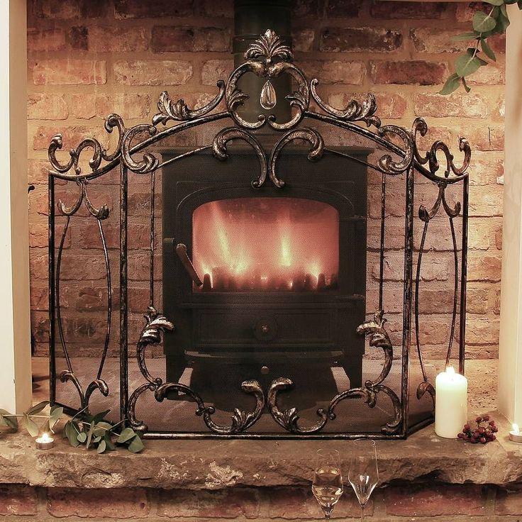 9 best fire guard images on Pinterest   Fireplace ideas, Fireplace ...
