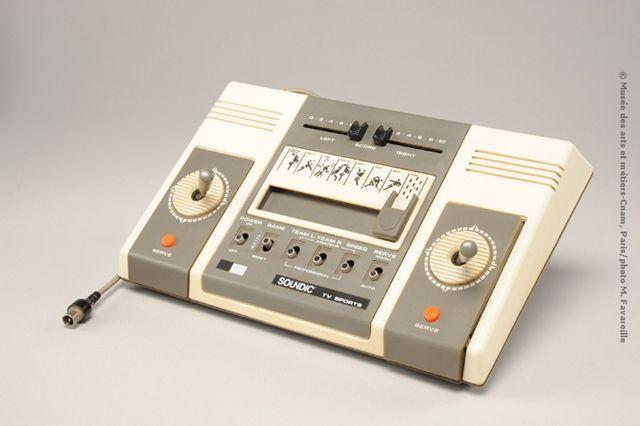 Console de jeu TV Sports, Soundic, env. 1977 - ©Musée des arts et métiers-Cnam, Paris/photo M. Favareille