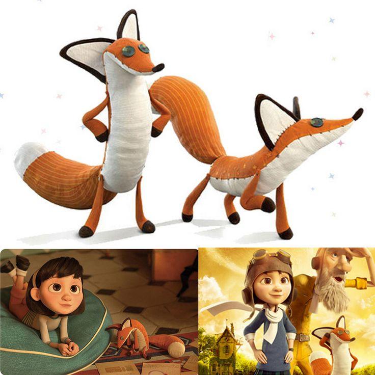 40cm The Little Prince Plush Dolls Fox Stuffed Animals Plush Education Toys for Baby Kids Gift