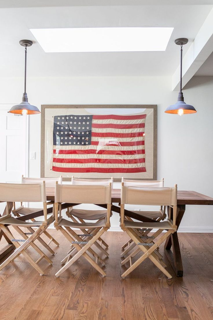 Creative American Flag Wall Art  FromCtoC