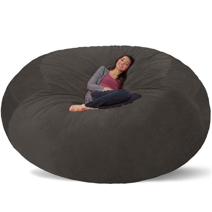 Giant Bean Bag - Huge Bean Bag Chair - Extra Large Bean Bag - fashion bags, bags online buy, black bags for sale *ad #BeanBagChair