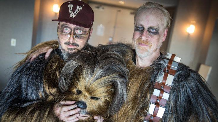 Adam Savage and John Hodgman at Comic-Con as Chewbaccas!: Tested Adam Savage and John Hodgman at Comic-Con as… More at hauntersweb.com