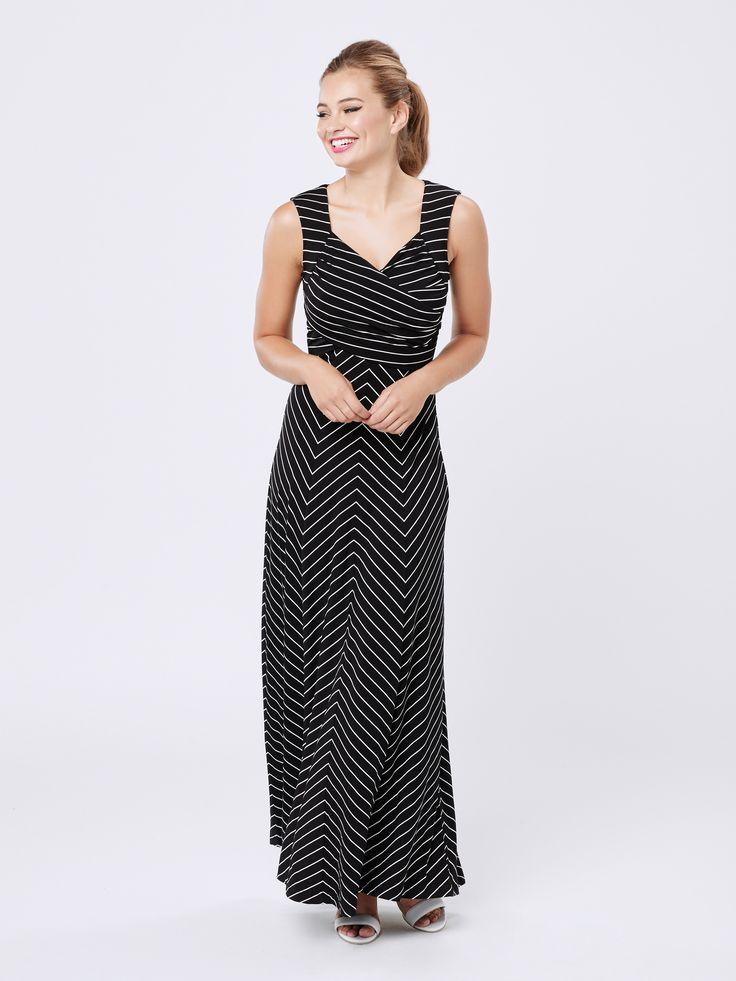Brady Maxi Dress | Stripe Dress | Review Australia